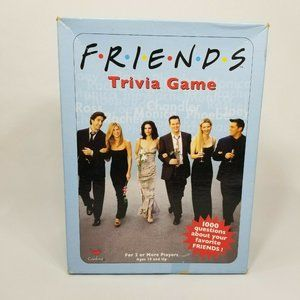 5/$25 Friends Trivia Game by Cardinal 2002 Edition